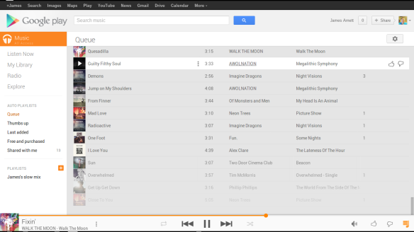 google-music-all-access-queue