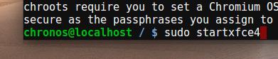 start-xfce-linux